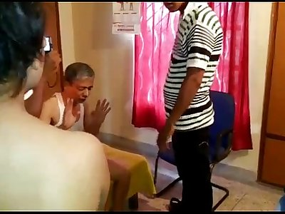 old man cought red handed with young girl desi slut Guwahati assam