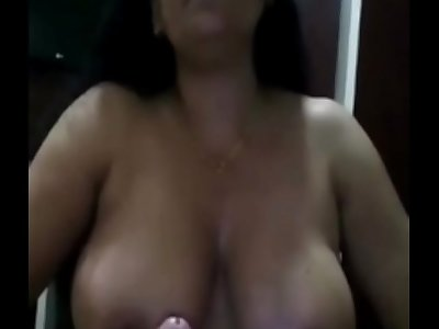 Horny busty housewife with humongous boobs & fuck hard