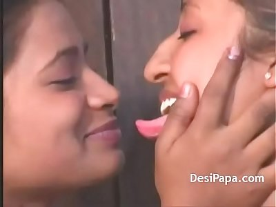 Cute Indian Babes Lesbian Fun