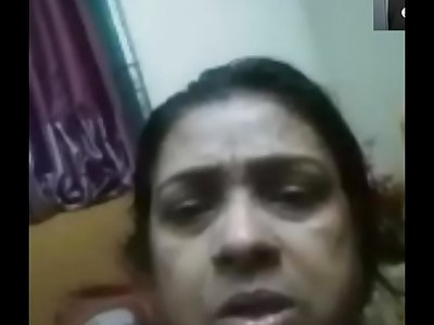BD woman's reaction while watching dick jerking in video call